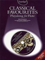 Classical Favorites Playalong For Flute Sheet Music