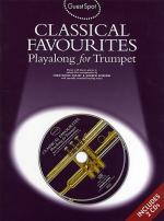Classical Favorites Playalong For Trumpet Guest Spot Series Sheet Music