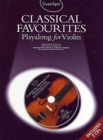Classical Favorites Playalong For Violin Guest Spot Series Sheet Music