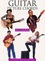 Guitar Picture Chords In Color Sheet Music