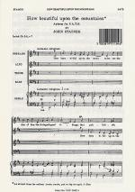 How Beautiful Upon The Mountains Sheet Music Sheet Music