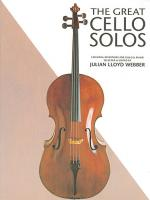The Great Cello Solos Sheet Music