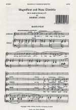 Magnificat And Nunc Dimittis In F Sheet Music Sheet Music