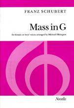 Mass In G (For Female Or Boys' Voices) Sheet Music