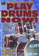 Play Drums Now! A Complete Lesson In A Box Sheet Music
