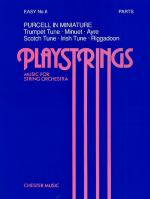 Playstrings Easy Number 6 Purcell In Miniature Sheet Music