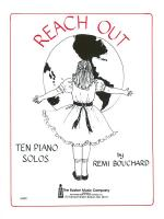Reach Out Sheet Music