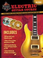 House Of Blues - Electric Guitar Course Everything You Need To Start Playing Electric Guitar Sheet Music