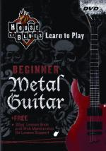 House Of Blues-beginner Metal Guitar House Of Blues Learn To Play Series Sheet Music