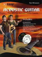 Rock House Ultimate Acoustic Guitar Course Book/2-CD Pack Sheet Music