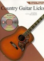 Country Guitar Licks Start Playing Series Sheet Music