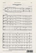 Te Deum Laudamus In Bb Sheet Music Sheet Music