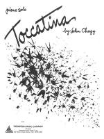 Toccatina Sheet Music Sheet Music