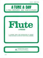 A Tune A Day - Flute Book 2 Sheet Music