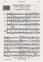 Welcome Yule! Sheet Music Sheet Music
