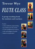 Flute Class A Group Teaching Book For Students And Teachers Sheet Music
