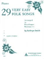 29 Very Easy Folk Songs Sheet Music