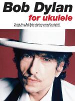 Bob Dylan For Ukulele Sheet Music