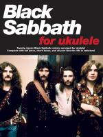 Black Sabbath For Ukulele Sheet Music