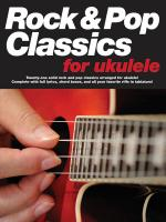 Rock & Pop Classics For Ukulele Sheet Music