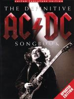 The Definitive Ac/Dc Songbook Updated Edition Sheet Music