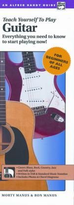 Alfred's Teach Yourself to Play Guitar (Everything You Need to Know to Start Playing Now!) - Book &  Sheet Music