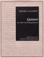 Quintet - For Oboe And String Quartet SCORE AND PART(S) Sheet Music