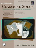 Progressive Classical Solos (Renaissance to Romantic Works for Classical Guitar) - Book Sheet Music