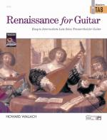 Renaissance for Guitar: Masters in TAB (Easy to Intermediate Lute Solos Transcribed for Guitar) - Bo Sheet Music