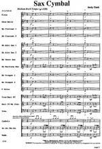 Sax Cymbal Sheet Music