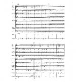 Little French Suite Extra full score Sheet Music