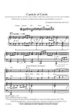 Canticle Of Carols Sheet Music Sheet Music