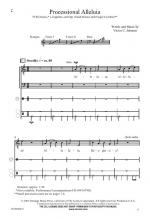 Processional Alleluia Sheet Music Sheet Music