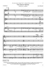 Veni Sancte Spiritus Sheet Music Sheet Music