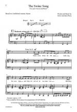 The Swine Song Sheet Music Sheet Music