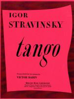 Tango - For Two Pianos SET OF PARTS Sheet Music
