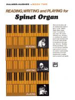 Reading, Writing, And Playing For Spinet Organ, Book 2 Sheet Music