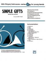 Simple Gifts (Shaker Folk Tune) - Conductor Score & Parts Sheet Music