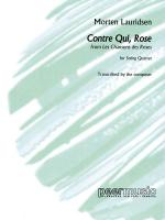 Contre Qui, Rose String Quartet Sheet Music