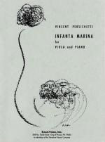 Infanta Marina - For Viola And Piano SOLO PART WITH PIANO REDUCTION Sheet Music