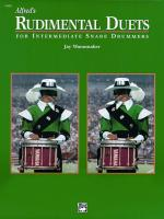 Alfred's Rudimental Duets (For Intermediate Snare Drummers) - Book Sheet Music