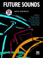 Future Sounds (A Book of Contemporary Drumset Concepts) - Book & CD Sheet Music