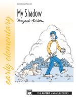 My Shadow - Sheet Music Sheet Music