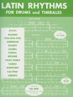 Latin Rhythms for Drums and Timbales - Book Sheet Music