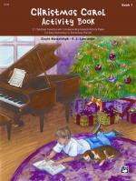 Christmas Carol Activity Book, Book 1 Sheet Music