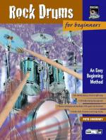 Rock Drums for Beginners (An Easy Beginning Method) - Book & CD Sheet Music