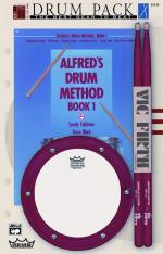 Alfred's Drum Method, Book 1 (The Most Comprehensive Beginning Snare Drum Method Ever!) - Drum Pack  Sheet Music