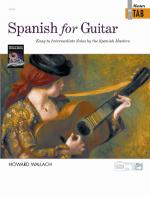 Spanish for Guitar: Masters in TAB (Easy to Intermediate Solos by the Spanish Masters) - Book Sheet Music