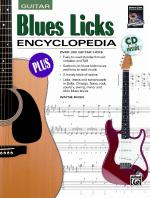 Blues Licks Encyclopedia (Over 300 Guitar Licks) - Book & CD Sheet Music