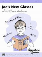 Joe's New Glasses - Sheet Music Sheet Music